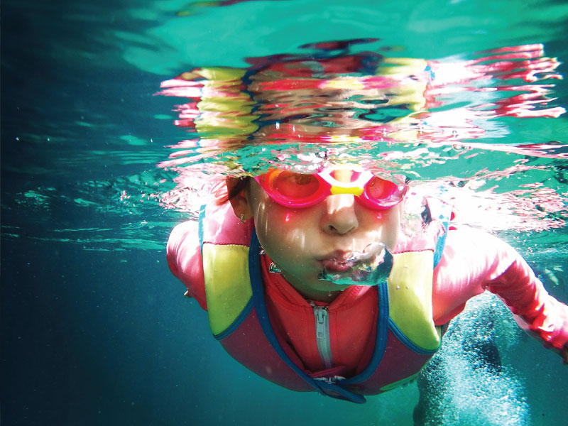 Teaching Your Child to Swim Could Save His or Her Life